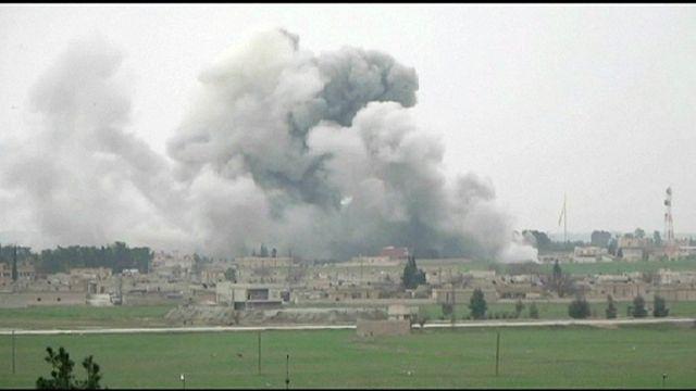 Koalisyon güçleri Suriye'de IŞİD hedeflerini vurdu