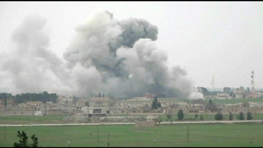 Las fuerzas kurdas y la coalición repelen un ataque del Dáesh en una localidad del norte de Siria
