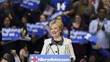 Primarie Usa: netta vittoria di Hillary in South Carolina