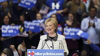 Clinton Güney Carolina'daki ön seçimi açık ara farkla kazandı