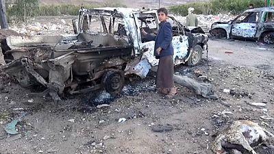 Dutzende Tote bei Luftangriff im Jemen