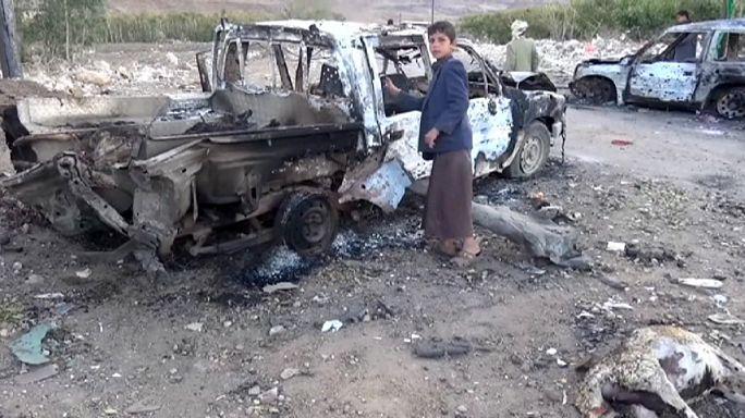 Yemen: al menos 40 muertos por un ataque de la aviación saudí a un mercado