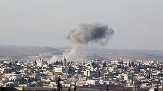 Aviones de guerra bombardean en seis localidades del oeste de Alepo