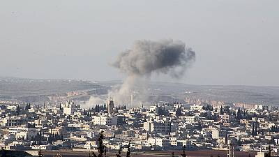 Syria: air strikes reported in the west of the country