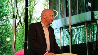 FIFA president Infantino inaugurates FIFA museum