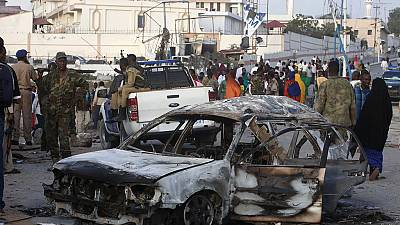 Update: Twin suicide bomb attack in Somalia, 30 dead
