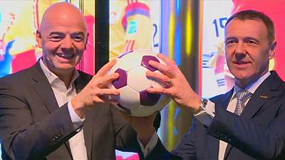 Neuer FIFA-Präsident Infantino eröffnet FIFA-Museum in Zürich