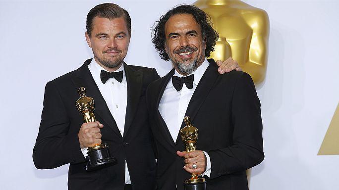 """""""سْبُوتْلاَيْتْ"""" يُتَوَّج بجائزة أوسكار أفضل فيلم ودِي كَابْرِيُو بجائزة أفضل مُمثِّل"""