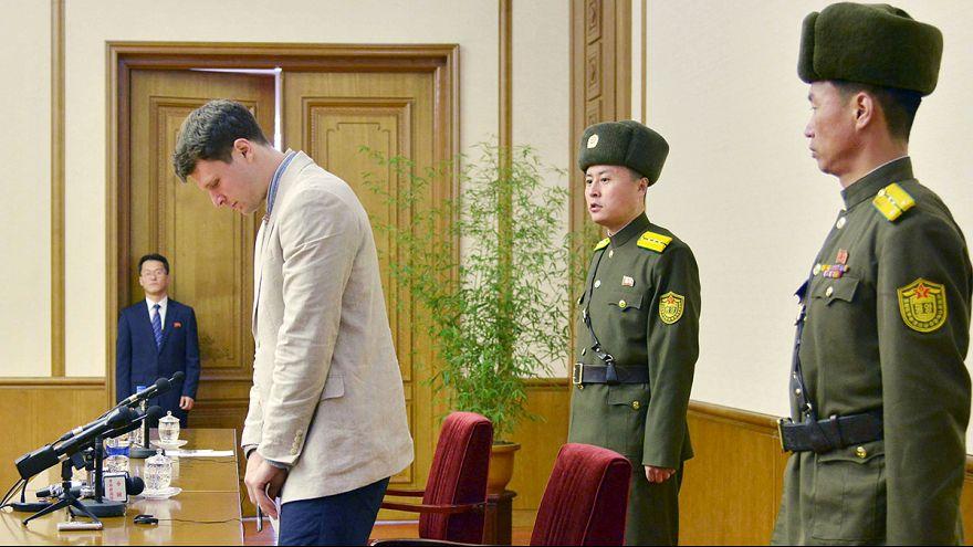 B. Κορέα: Αμερικανός φοιτητής εκλιπαρεί το καθεστώς για την αποφυλάκιση του