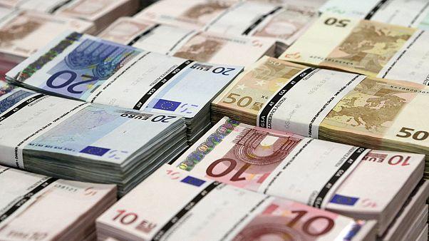Taxa de inflação negativa na zona euro em fevereiro