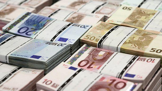 Mínuszban az infláció az eurózónában
