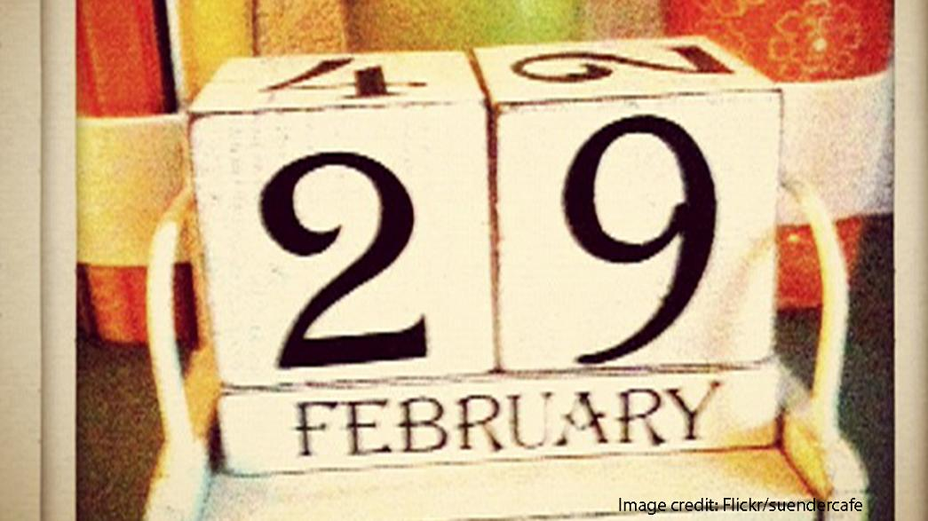 How do other parts of Europe mark the leap year?