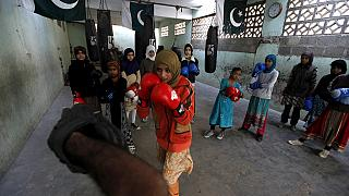 Karachi girls take to boxing