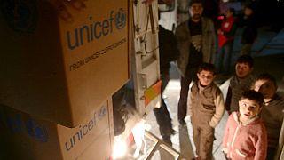 Συρία: Έφτασαν τα πρώτα κομβόι με ανθρωπιστική βοήθεια