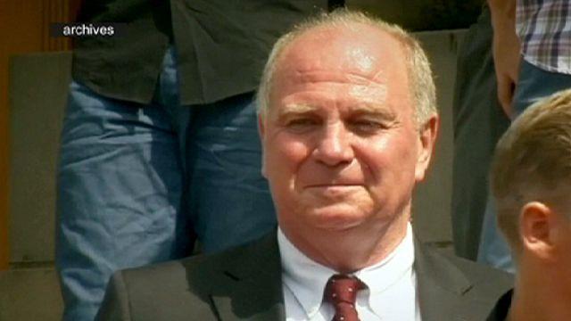 Bayern Munich Başkanı hapisten çıktı