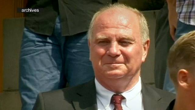 Former Bayern Munich president Uli Hoeness released from prison
