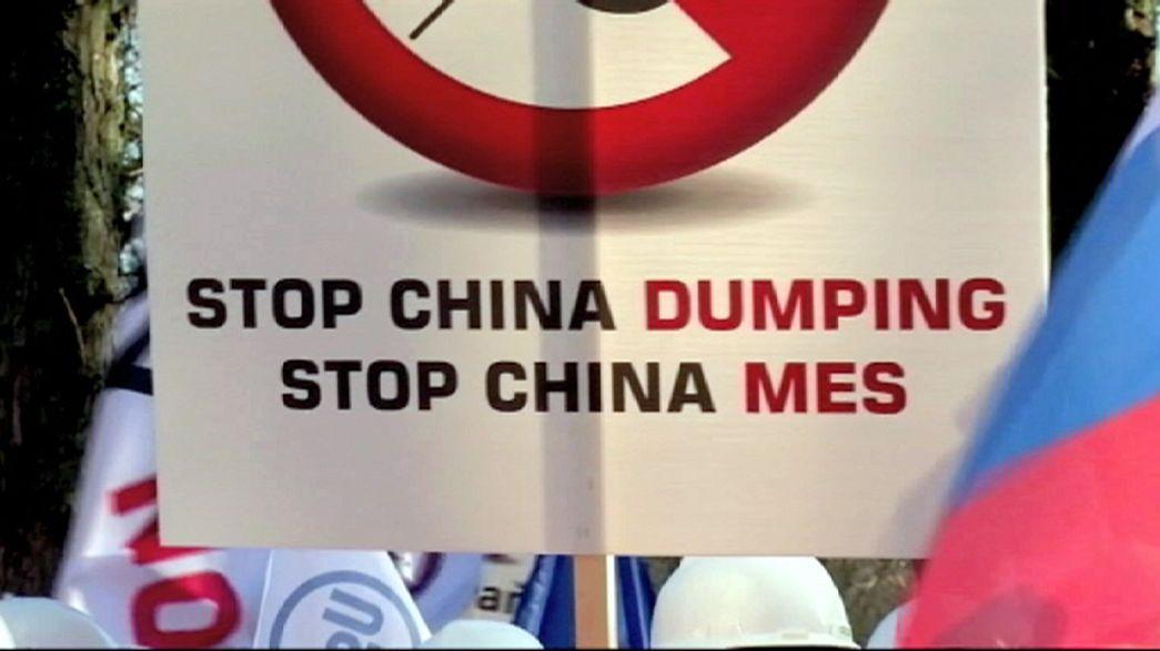 Ameaça chinesa ao setor siderúrgico europeu debatida em Bruxelas