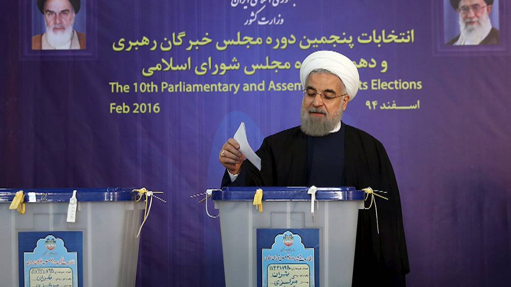 La política de apertura del Presidente iraní confirma su progreso en los comicios