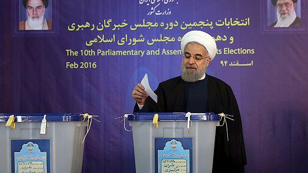 إيران : فوز المعتدلين في الجولة الأولى