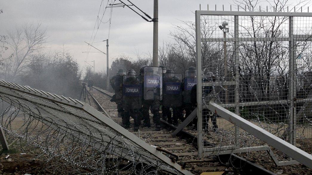 Migranti. Torna la calma al confine greco-macedone dopo gli scontri di lunedì