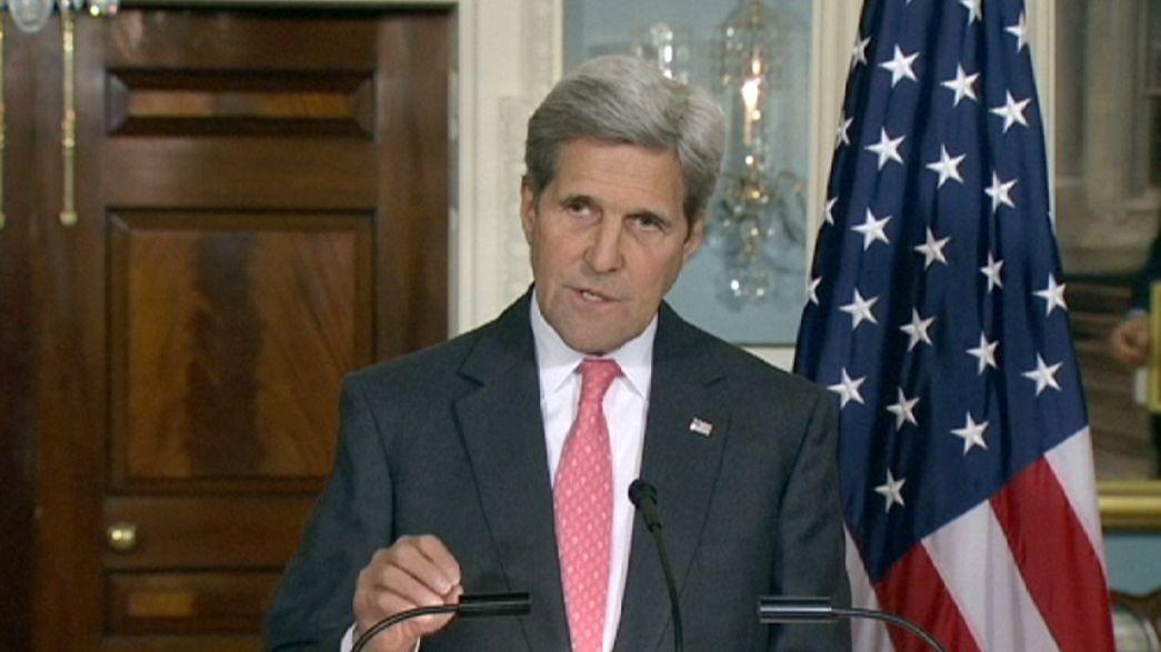 """John Kerry: """"Mülteci krizi küresel bir sorun"""""""