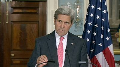 "Kerry says ""increasingly concerned"" about Syrian refugees"