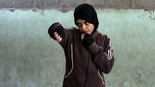 Pakistanlı kızlar ringde
