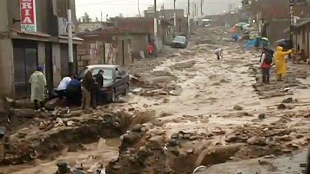 Perù: esercito in campo contro le inondazioni provocate da El Nino