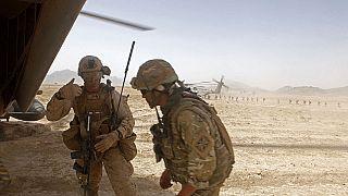 Des soldats britanniques en Tunisie