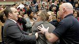 [Vídeo] El reconocido fotógrafo Chris Morris, agredido por la seguridad de Donald Trump