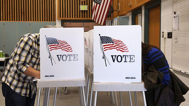 Doce Estados votan en el decisivo Supermartes en Estados Unidos, con Trump y Clinton en cabeza