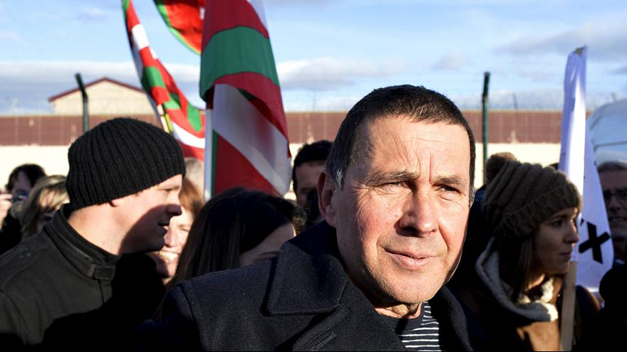 Former leader of banned Basque party freed from jail in Spain