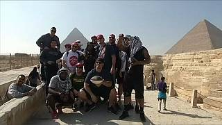 Egypt: NFL players promote American Football