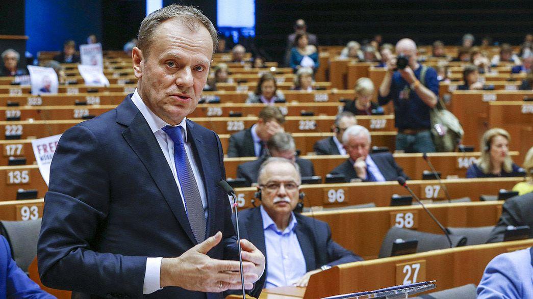 Tusk intenta consensuar una respuesta europea antes de la cumbre con Turquía