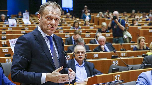 EU's Tusk kicks off shuttle diplomacy tour as Brussels seeks to save Schengen