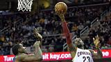NBA: LeBron James trascina i Cavs contro i Pacers