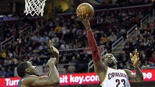 NBA: Cleveland gewinnt mit Mühe gegen Indiana