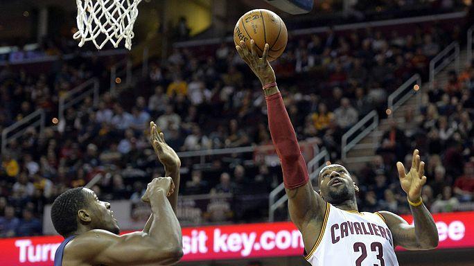 NBA: Cleveland kıl payı kazandı