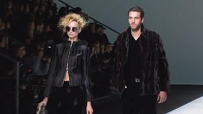 Milan Fashion Week ends with velvet and sparkles