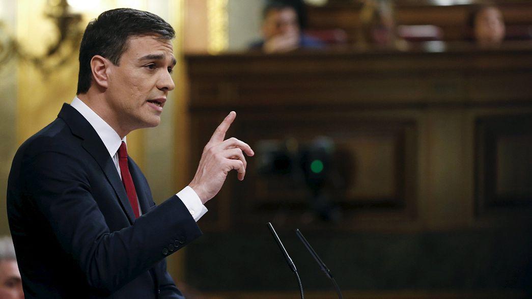 Spagna: il leader socialista chiede la fiducia per governare