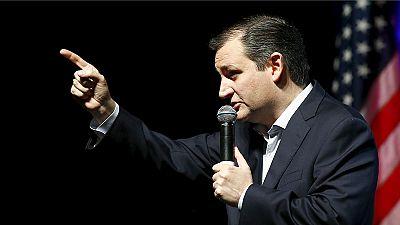 Ted Cruz terceiro nas sondagens