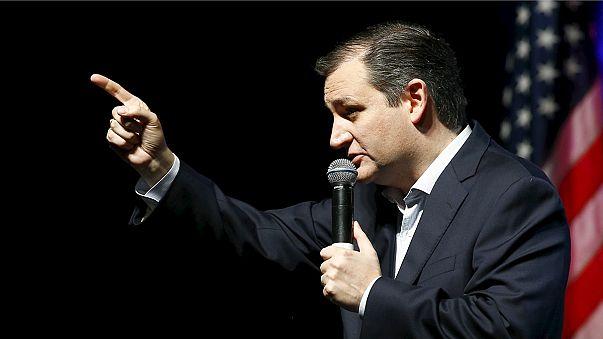 "Тед Круз: ""пусть бог благословит штат Айова!"""