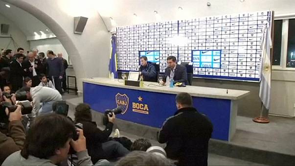 نادي بوكا جونيورز يتخلى عن المدرب رودولفو أروابارينا