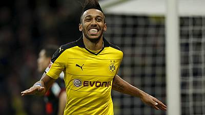 CAF congratulates Aubameyang on 100 career goals