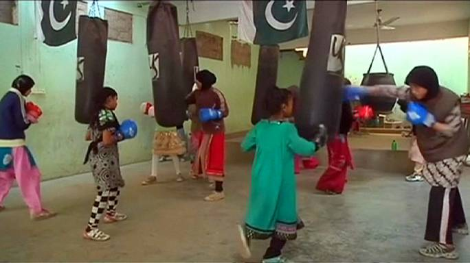 Punching through the gender barriers in Pakistan