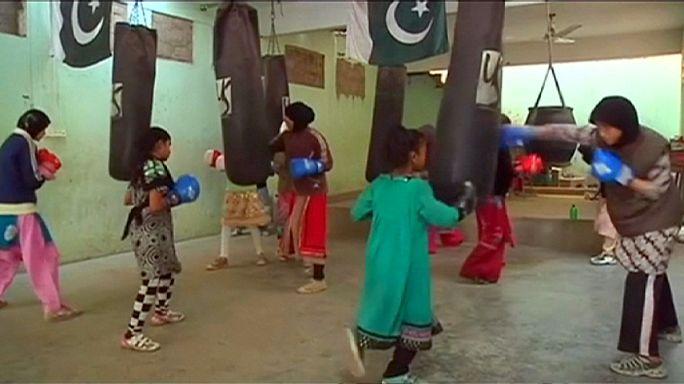 Pakistan'ın boksör kızları