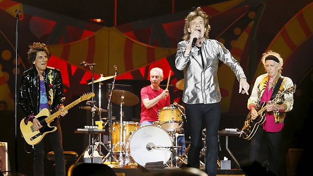 Rolling Stones'dan bir ilk