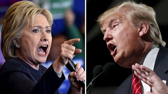 'Süper Salı'nın galibi Clinton ve Trump