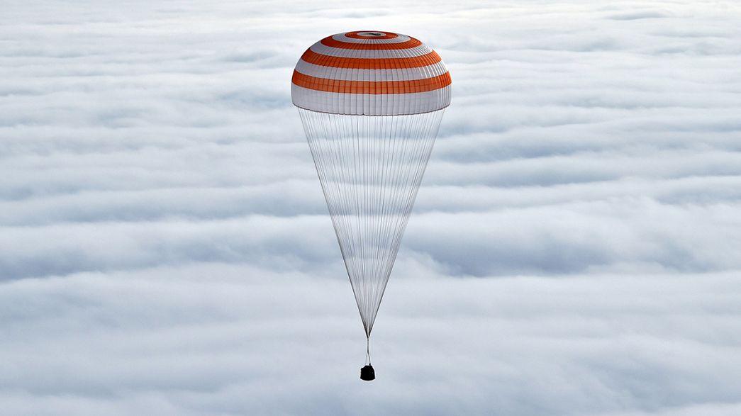 Fin du plus long séjour dans l'ISS