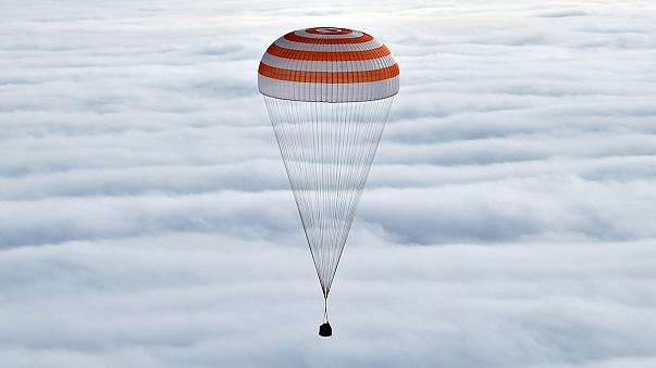 Elementos da Estação Espacial Internacional regressam a Terra